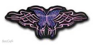 Toppa tribal bfly w/studs-15cm