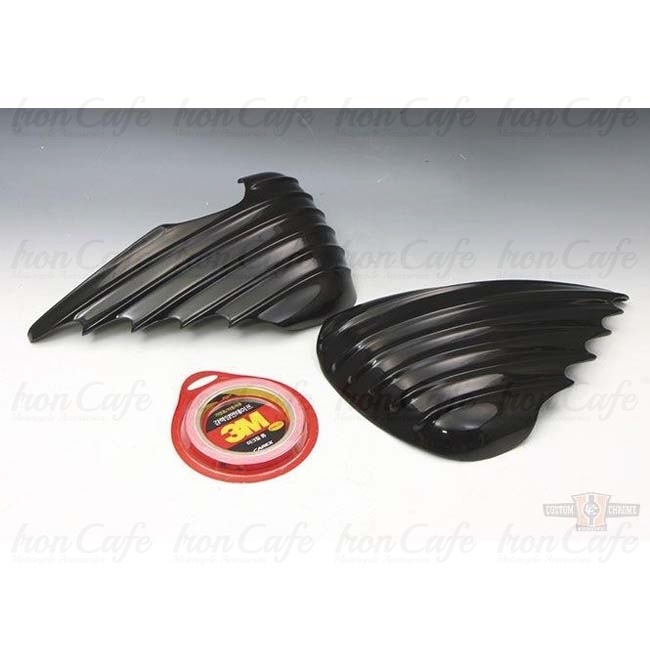 Cover Stile Bat Wing per coperchi Sportster